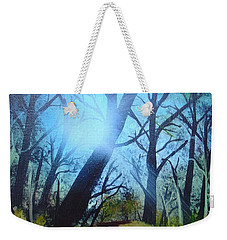 Forest Sunlight Weekender Tote Bag