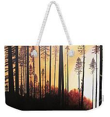 Forest Sunrise Weekender Tote Bag