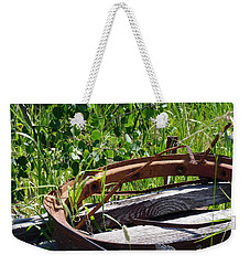 Weekender Tote Bag featuring the photograph Forest Takeover by Meghan at FireBonnet Art