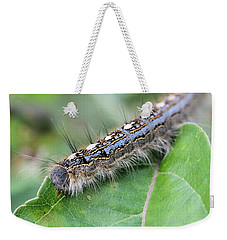 Forest Tent Caterpillar Weekender Tote Bag