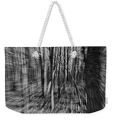 Forest Time B.w Weekender Tote Bag