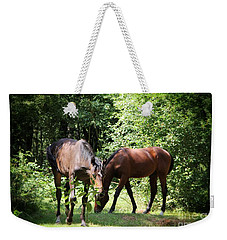 Forest Visitors Weekender Tote Bag