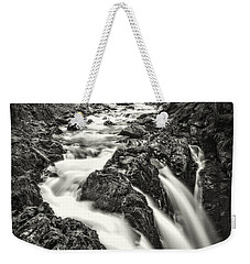 Forest Water Flow Weekender Tote Bag