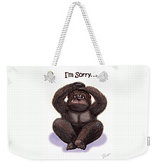 Forgive Me Weekender Tote Bag by Jerry Ruffin