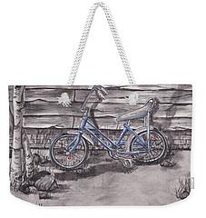 Forgotten Banana Seat Bike Weekender Tote Bag