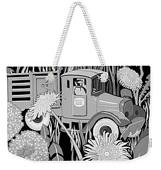 Weekender Tote Bag featuring the drawing Forgotten by Carol Jacobs