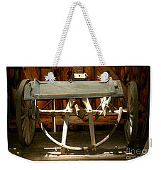 Weekender Tote Bag featuring the photograph Forgotten by Christiane Hellner-OBrien