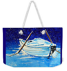 Forgotten Rowboat Weekender Tote Bag by Jackie Carpenter