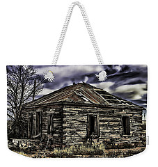 Weekender Tote Bag featuring the painting Forgotten by Muhie Kanawati