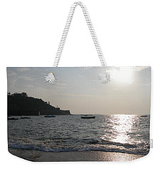 Fort Aguada Beach Weekender Tote Bag by Mini Arora