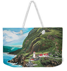 Fort Amherst Newfoundland Weekender Tote Bag