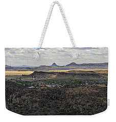 Fort Davis From Davis Mountains State Park Weekender Tote Bag