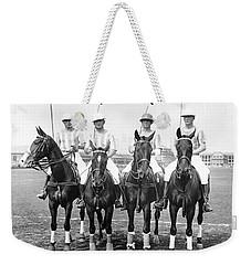 Fort Hamilton Polo Team Weekender Tote Bag