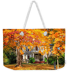 Fort Hunter Autumn Weekender Tote Bag