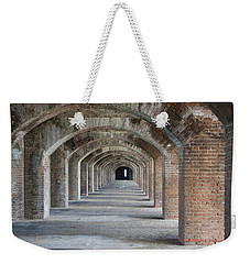 Fort Jefferson Arches Weekender Tote Bag