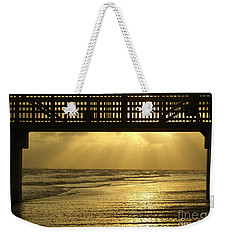 Fort Myers Golden Sunset Weekender Tote Bag