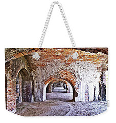 Fort Pickens Archway In Florida Weekender Tote Bag by Jennifer Muller