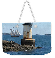 Fort Pickering Light Weekender Tote Bag by Denyse Duhaime