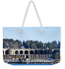 Fort Popham In Maine Weekender Tote Bag
