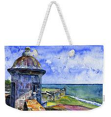 Fort San Juan Puerto Rico Weekender Tote Bag