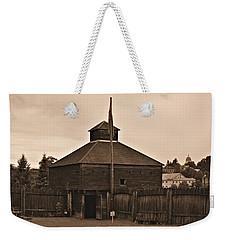 Fort Western Weekender Tote Bag