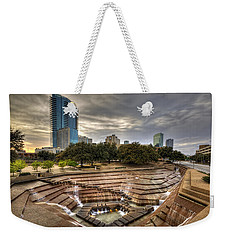 Fort Worth Water Garden Weekender Tote Bag