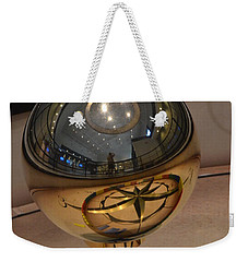 Weekender Tote Bag featuring the photograph Foucalt's Pendulum by Robert Meanor