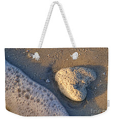 Found Heart Weekender Tote Bag by Peggy Hughes