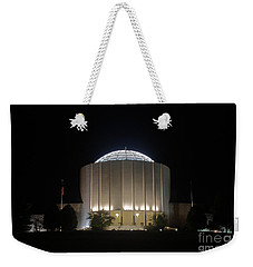 Founders Hall At Night Weekender Tote Bag