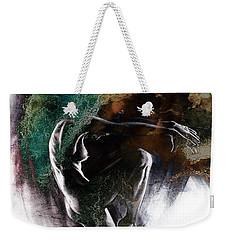 Fount II. Textured. A Weekender Tote Bag