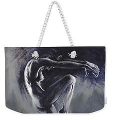 Fount II. Textured B. Weekender Tote Bag by Paul Davenport