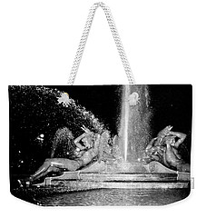 Fountain At Logan Square Weekender Tote Bag