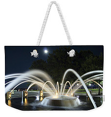 Fountain Charleston Waterfront Park Weekender Tote Bag