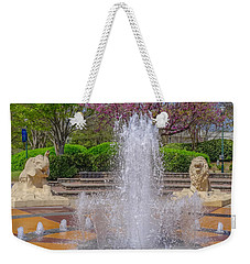 Fountain In Coolidge Park Weekender Tote Bag