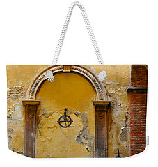 Fountain In Sienna Weekender Tote Bag