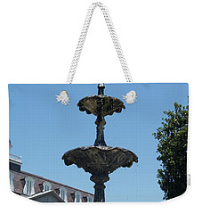 Fountain  Weekender Tote Bag by Robin Maria Pedrero