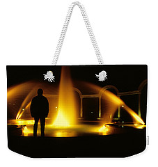 Fountain Silhouette Weekender Tote Bag by Jason Politte