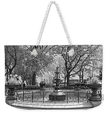 Fountain Time Weekender Tote Bag by Catie Canetti