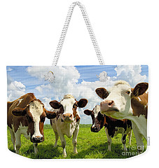 Four Chatting Cows Weekender Tote Bag