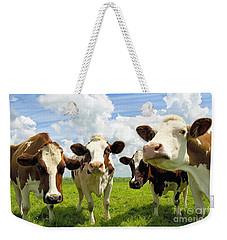 Four Chatting Cows Weekender Tote Bag