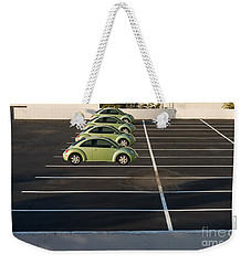 Four Green Beetles Weekender Tote Bag