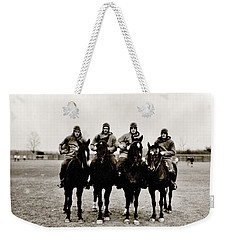 Four Horsemen Weekender Tote Bag by Benjamin Yeager