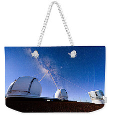 Four Lasers Attacking The Galactic Center Weekender Tote Bag