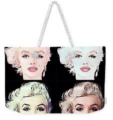 Four Marilyn Monroe 2 Weekender Tote Bag