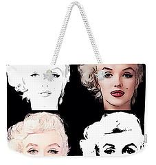 Four Marilyn Monroe Weekender Tote Bag