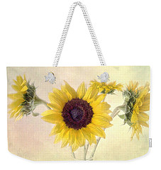 Weekender Tote Bag featuring the photograph Hello Sunshine by Louise Kumpf