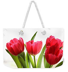 Four Tulips Weekender Tote Bag