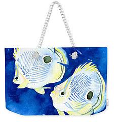 Foureye Butterflyfish Weekender Tote Bag