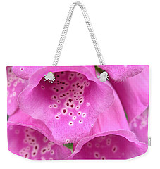 Fox Glove Weekender Tote Bag
