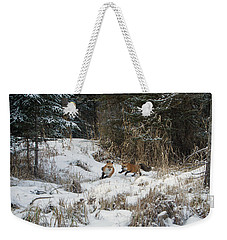 Fox Hollow Weekender Tote Bag